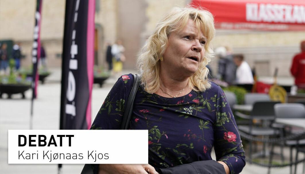 Når uføretrygden er gitt, blir du rett og slett ikke prioritert av systemet, skriver stortingsrepresentant Kari Kjønaas Kjos om personer med lett utviklingshemming som ønsker å jobbe.
