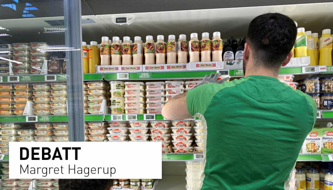 Arbeidsgivere som Scandic, McDonalds, Avinor og Kiwi får skryt for å tilby psykisk utviklingshemmede jobb i ordinært arbeidsliv. Stortingsrepresentant Margret Hagerup mener vi må gi folk muligheter fremfor medfølelse.