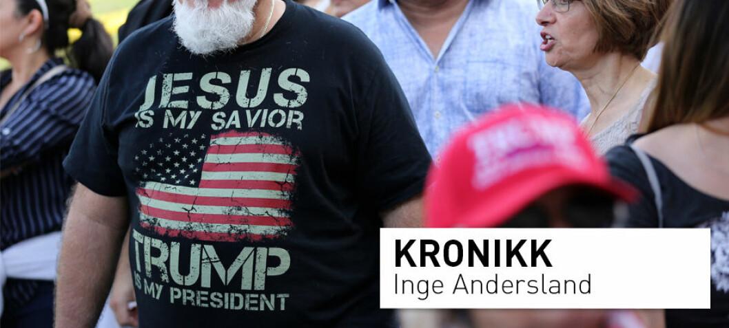 Religiøs nasjonalisme i Washington: Hvor kristent skal USA være?