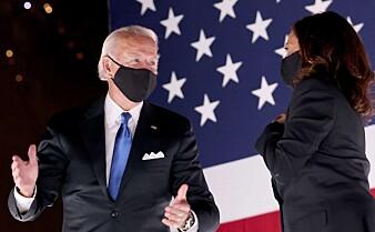 Klarer Joe Biden å rydde opp i kaoset?
