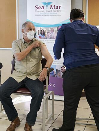 Få allergisjokk etter Moderna-vaksinering