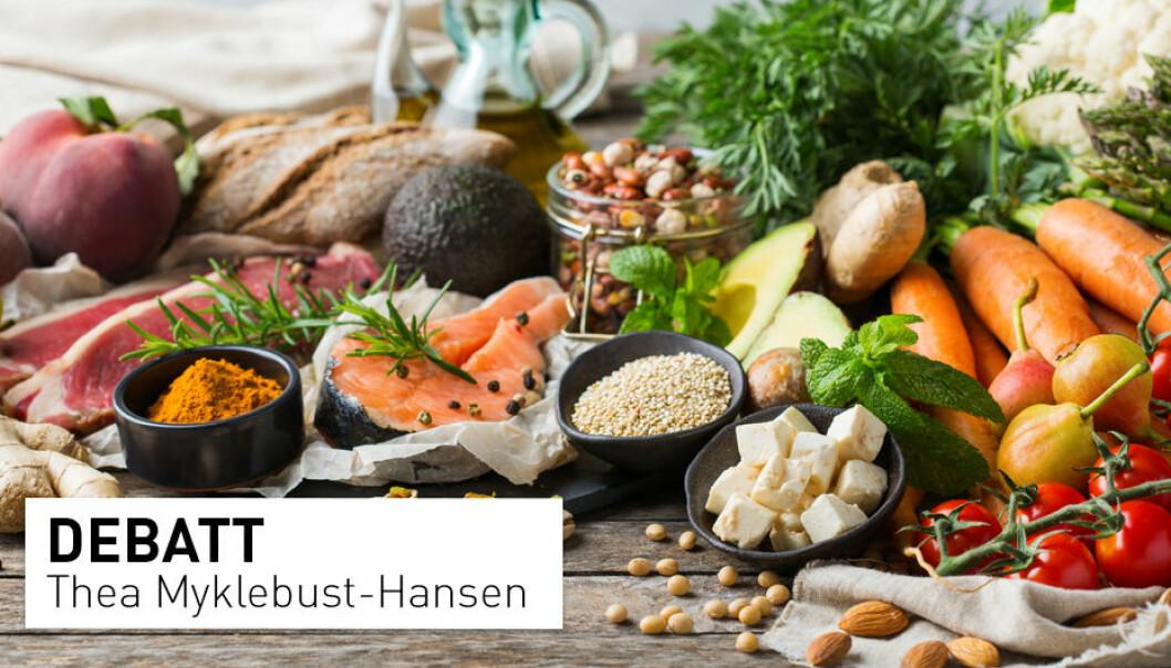 Det går ofte i ball når det engelske ordet «diet» skal oversettes til norsk. Det kan gjøre at det som bare er et sunt kosthold blir merket som en avansert og streng diett, mener ernæringsrådgiver Thea Myklebust-Hansen.
