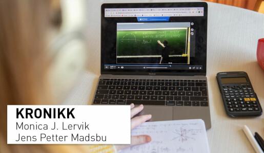 Svarte skjermer: Foreleserens eller studentens problem?