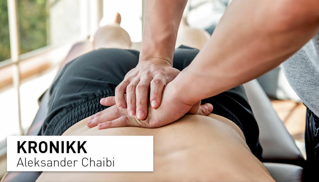 Bivirkninger ved manuell behandling av muskel- og skjelettplager er beskjedne, milde og forbigående, skriver Aleksander Chaibi.