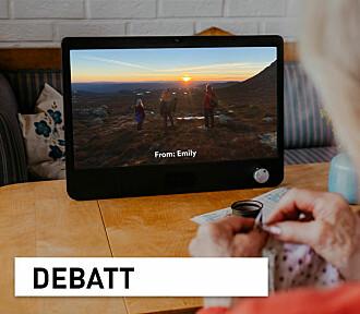 Teknologi og omsorg: Vår kritikk er ikke motivert av særinteresser