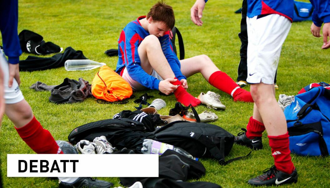 Ballidretter og andre idrettsaktiviteter er fortsatt en del av kroppsøvingsfaget, selv om faget har blitt fornyet, skriver innsenderne.
