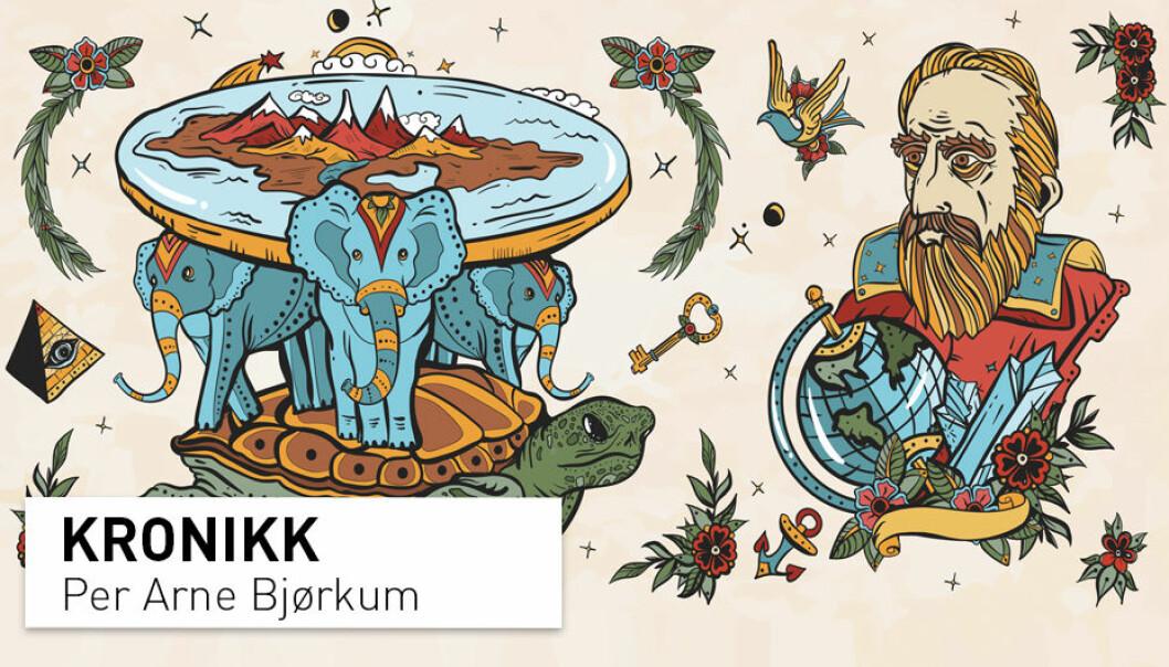 Hva er likt og hva skiller vitenskapelige teorier fra konspirasjonsteorier? Per Arne Bjørkum redegjør for sitt syn fra et vitenskapsteoretisk ståsted.