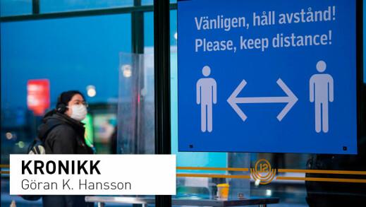 Koronastrategien i Sverige: Ble hudflettet for forslag om økt testing og munnbind
