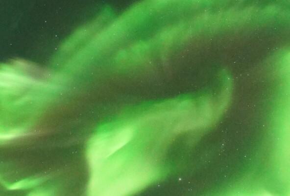 Svalbards spesielle nordlys