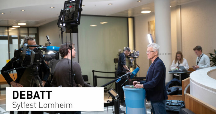 Sylfest Lomheim: – Kva grunnar media har for å kontakta meg, er ikkje eg den rette til å svara på