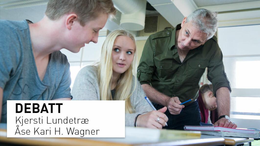 Vi må unngå å kategoriskere elever som «svake gutter» eller «flinke jenter». Vi mener at gutter ikke trenger egen undervisning, skriver to professorer ved Universitetet i Stavanger.