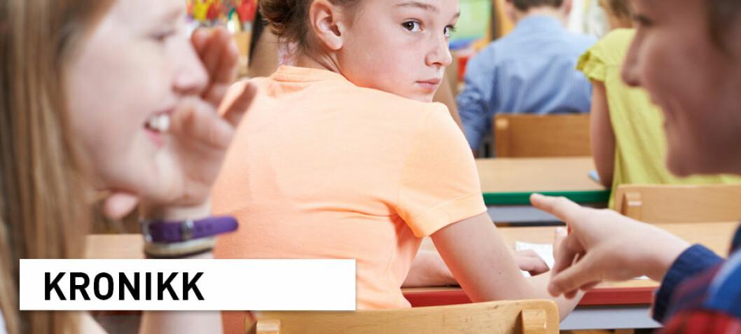 Utdanningsdirektoratet gir dårlige råd om mobbing i skolen