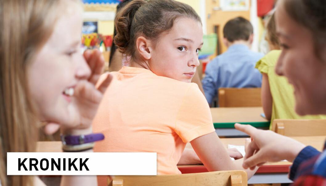 Hvis rådene til Utdanningsdirektoratet blir fulgt, blir det vanskeligere for skolene og barnehagene å ta i bruk gode antimobbeprogrammer. Det vil ramme barna, skriver kronikkforfatterne.