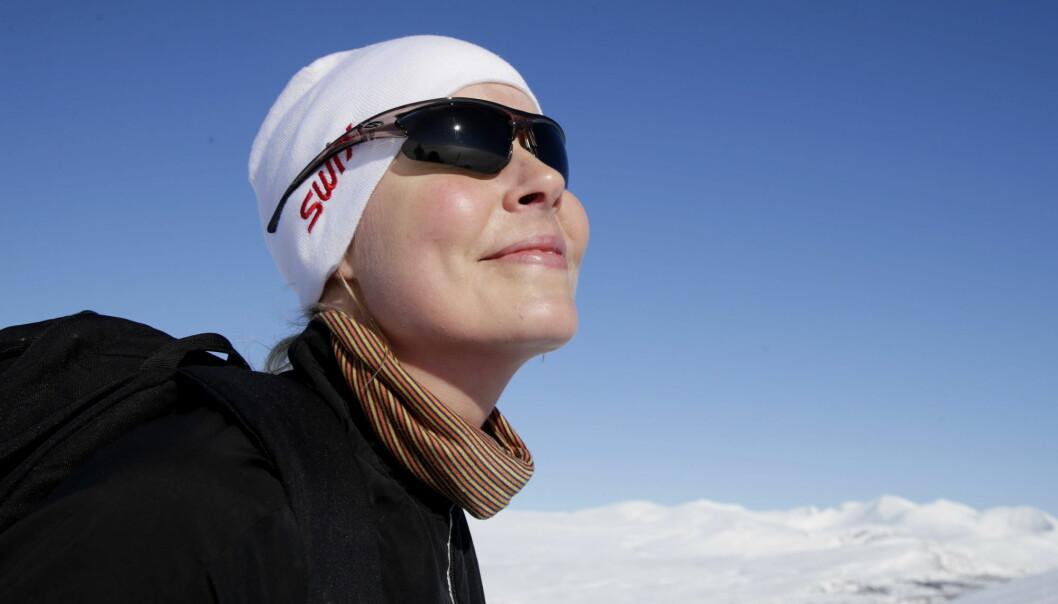 Skal du til fjells i påsken bør du sjekke UV-varselet, og lese denne artikkelen om hvordan det står til med ozonlaget.