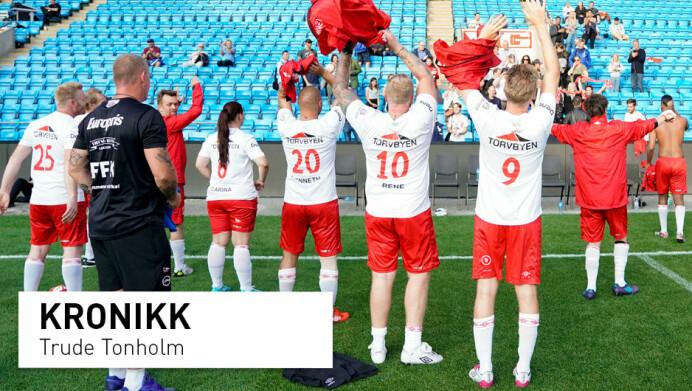 10 år med Gatelaget: Fyller tiden med fotball i stedet for rus