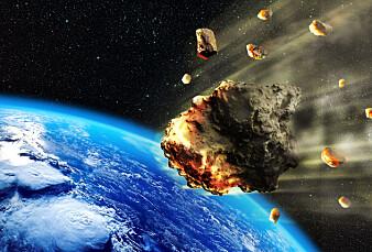 5000 tonn utenomjordisk støv faller til jorda hvert år