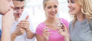 Røyking i ungdommen kan ha langsiktige konsekvenser – også hvis du slutter før du blir 30