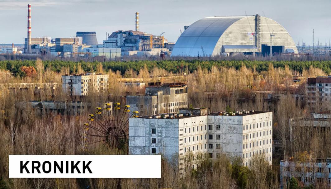 For 35 år siden eksploderte en av de fire reaktorene i Tsjernobyl atomkraftverk, som førte til at den nærliggende byen Pripjat ble fraflyttet. Vi har mye å lære av ulykken, men ved neste kjernefysiske ulykke vil også kunnskapen fra koronapandemien kunne bli nyttig, skriver kronikkforfatterne.