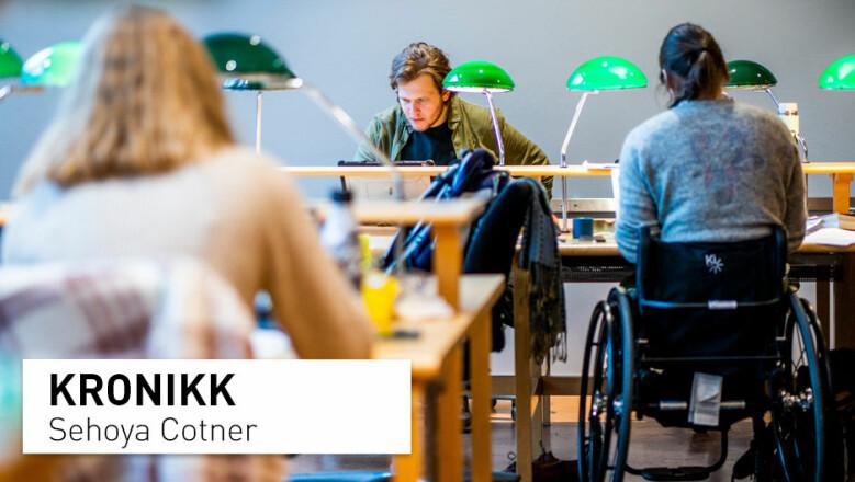 To sensorer på eksamen vil være et skuffende tilbakeslag for høyere utdanning i Norge