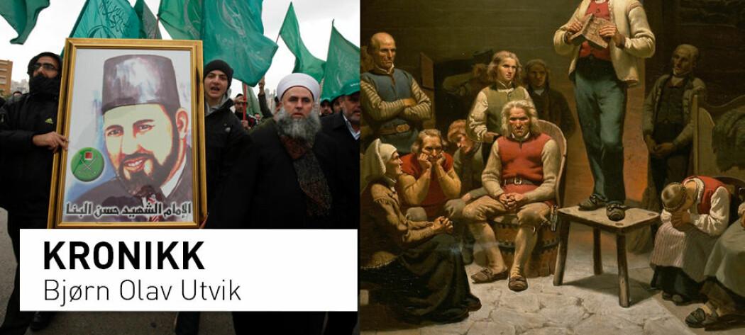 Hans Nielsen Hauge har et moderne motstykke i Det muslimske brorskap