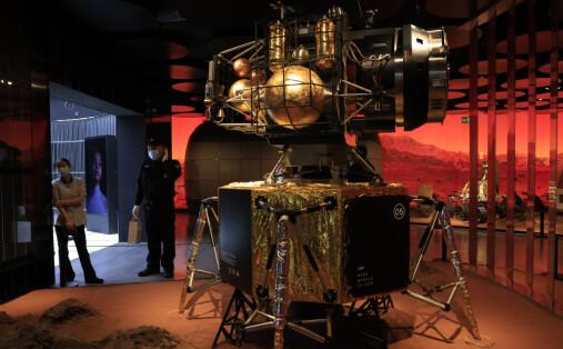 Kina har landet på Mars