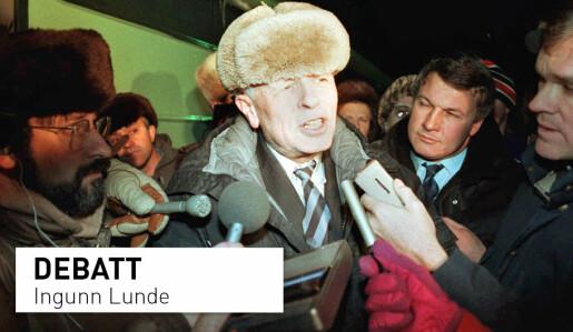 Andrej Sakharov utviklet den sovjetiske hydrogenbomben og ble menneskerettsaktivist. Nå stanses jubileumsutstillingen i Russland.