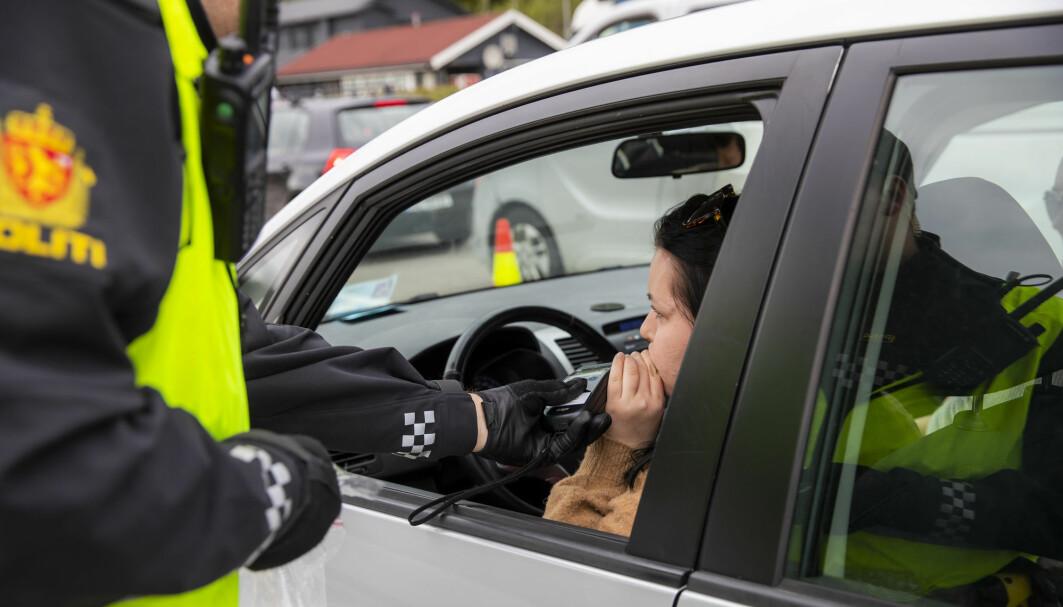 Hvis politiet mistenker at en sjåfør har tatt et narkotisk stoff blir sjåføren tatt med til legevakt for en blodprøve. Men det er ikke alltid at en positiv prøve på amfetamin er ulovlig. Det finner laboratoriet på Oslo universitetssykehus ut av.