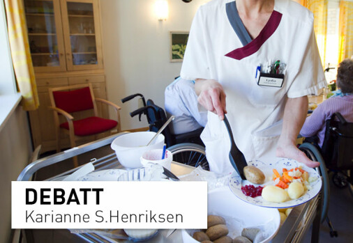 Kjøttkaker til eldre på sykehjem: Mer og bedre proteiner i kjøtt enn bønner