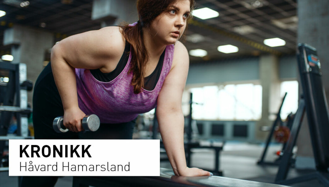 Fedmedebatten kan gi inntrykk av at trening ikke virker om man ønsker å gå ned i vekt. Det er en svært uheldig påstand, skriver Håvard Hamarsland som forsker på trening.