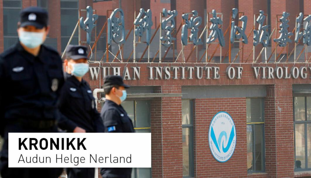 Det har blitt spekulert på om koronaviruset kan ha blitt skapt i Wuhan Institute of Virology, men er det overhodet teknologisk mulig? Molekylærbiolog Audun Helge Nerland gir svar.