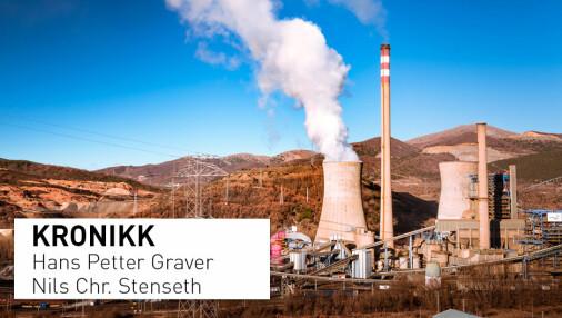 Vitenskapsakademiet om klimameldingen:   Regjeringen skjønnmaler Norges klimapolitiske posisjon