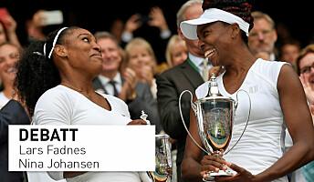 Veganerne Serena og Venus Williams er blant tidenes beste utøvere. Hvorfor lever myten om animalske proteiner videre?