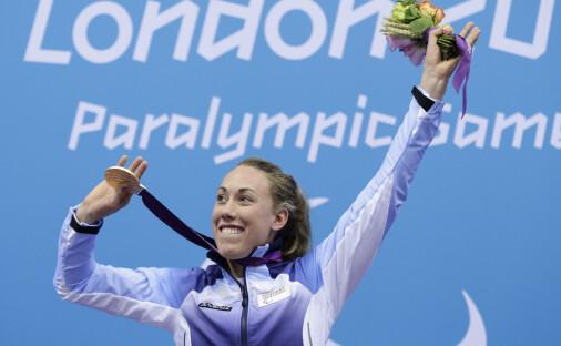 Slik trente Sarah Louise Rung for å bli en av tidenes parasvømmere