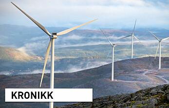 Hvis vi velger vekk bioenergi, trenger vi mer gasskraft og vindkraft