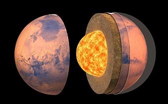 Ny forskning avslører hvordan Mars ser ut inni