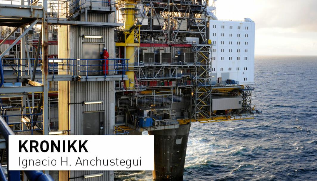 Norges største CO2-utslipp, 32 prosent, kommer fra olje- og gassproduksjonen og ikke fra selve forbruket. Dersom man fortsetter med å elektrifisere sokkelen med norsk miljøvennlig elektrisitet, er vi allerede på god vei til å oppfylle våre klimaforpliktelser.