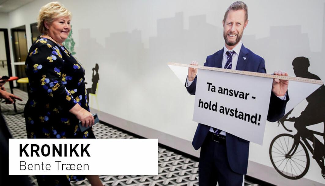 Det er en viss avstand mellom statsminister Erna Solberg og Bent Høie i å framsnakke gleden av one night stands. Men hvordan er egentlig nordmenns forhold til tilfeldig sex, eller til og med det sexolog og professor Bente Træen kaller one night standens spesialvariant – gruppesex?