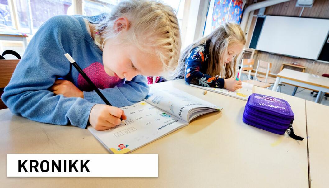 Elever som finner lærestoffet for lett, får ikke utviklet sitt potensial og lærer seg derfor ikke å prestere. Det kan føre til tap av motivasjon og skolefrafall, skriver kronikkforfatterne.