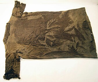 Slik ser det eldste klesplagget i Norge ut.