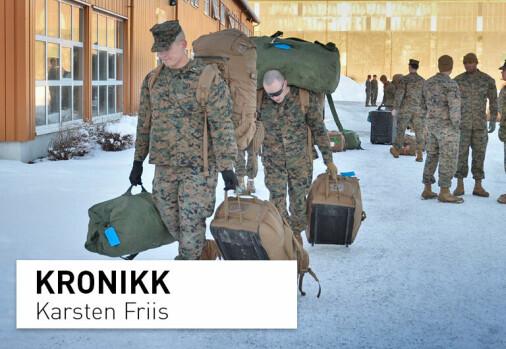 Norsk-amerikansk forsvarssamarbeid: Risikerer vi horder av amerikanske soldater på norsk jord?