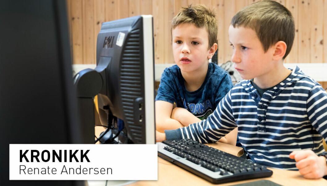 Det har blitt mye diskusjon i sosiale medier om forrige kronikk om evnerike barn. Noen av holdningene blant lærere sjokkerer, skriver Renate Andersen.