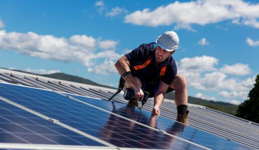 Kan solceller gi oss både lys og varme?