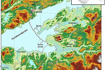 Istidens tilbaketrekking stoppet opp i minst tusen år i Trøndelag