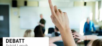 En god skole for evnerike, talentfulle elever er en god skole for alle