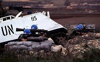 Forskere om norske soldater i Libanon:«Regjeringen var så ivrige etter å støtte FN og USA at den tok avgjørelser den ikke forsto konsekvensene av»